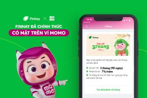 Finhay đã chính thức có mặt trên Momo – ví điện tử hàng đầu Việt Nam